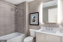 2nd full bathroom - 8302 WOODMONT AVE #803, BETHESDA