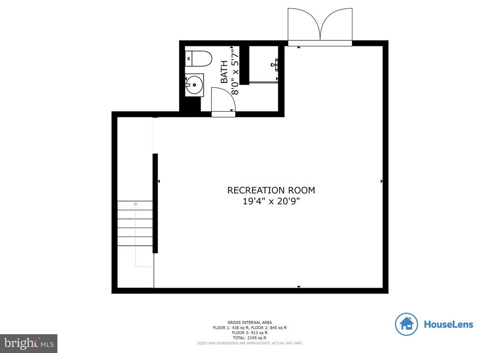 Floor Plan - Basement - 13343 PELICAN RD, WOODBRIDGE