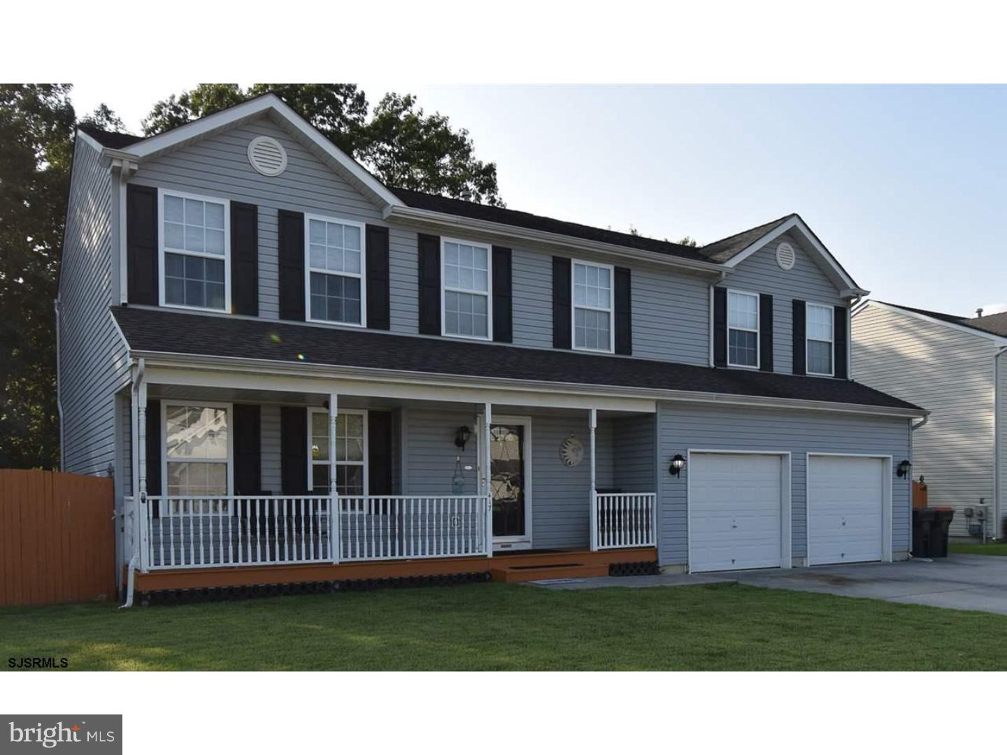 Single Family Home for Sale at 417 S HOLLY Avenue Galloway, New Jersey 08205 United States