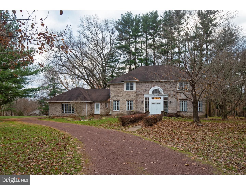 Maison unifamiliale pour l Vente à 3 MANSION HILL Drive Ewing Township, New Jersey 08628 États-UnisDans/Autour: Ewing Township