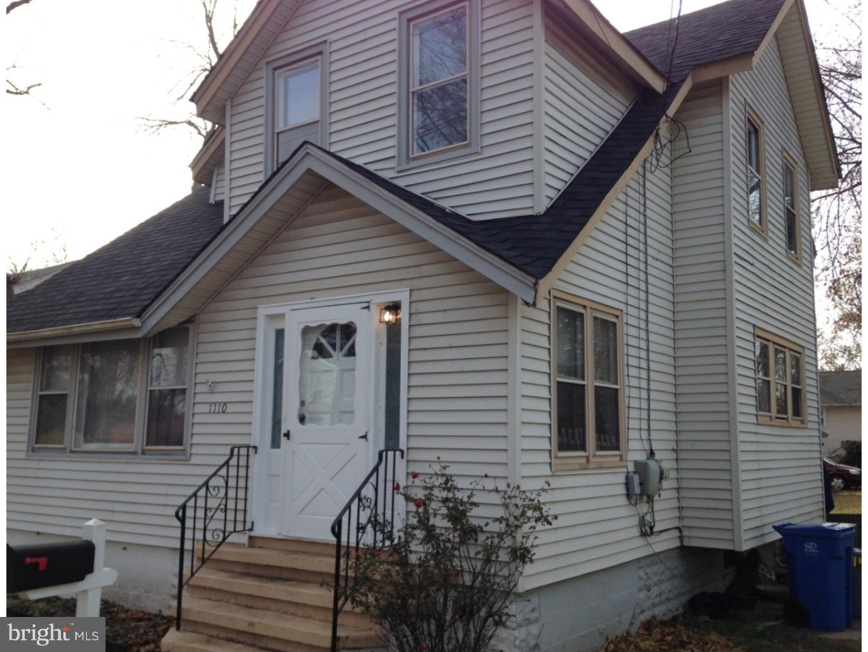 Enfamiljshus för Försäljning vid 1110 HESSIAN Avenue National Park, New Jersey 08063 Förenta staternaI/Runt: National Park