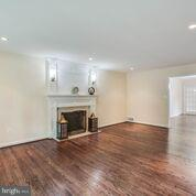 one of the TWO fireplaces in this great home - 1100 BEVERLEY DR, ALEXANDRIA