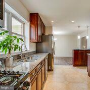 gourmet kitchen with brand new appliances - 1100 BEVERLEY DR, ALEXANDRIA