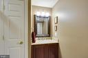 hall bathroom - 43416 SPANISH BAY CT, LEESBURG