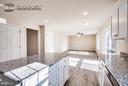 kitchen-living room combo - 11615 RIVER MEADOWS WAY, FREDERICKSBURG