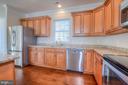 High-grade kitchen cabinets - 11615 RIVER MEADOWS WAY, FREDERICKSBURG