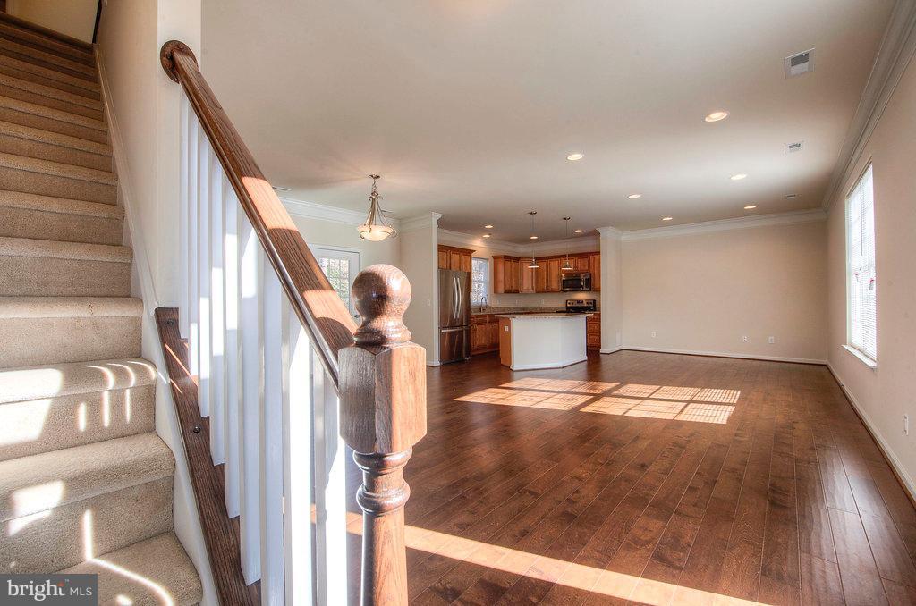 foyer-living room-kitchen - 11615 RIVER MEADOWS WAY, FREDERICKSBURG