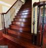 cherry color stairway - 11615 RIVER MEADOWS WAY, FREDERICKSBURG