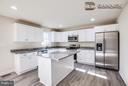 optional white kitchen - 11615 RIVER MEADOWS WAY, FREDERICKSBURG