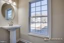 powder room/ half bath - 11615 RIVER MEADOWS WAY, FREDERICKSBURG