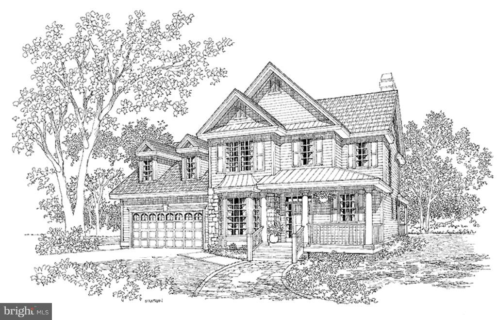 front home drawing - 11615 RIVER MEADOWS WAY, FREDERICKSBURG