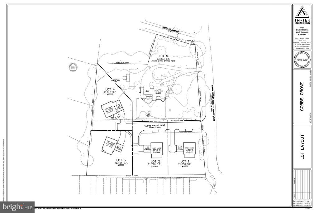 4 Lots Available in Cobbs Grove Community - 10510 COBBS GROVE LN, FAIRFAX