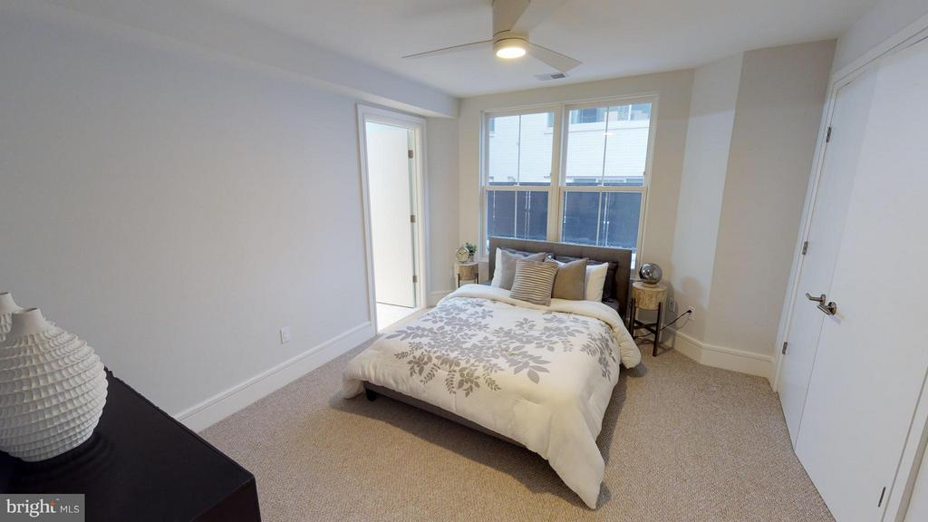 Bedroom (Master) - 3211 WISCONSIN AVE NW #103, WASHINGTON