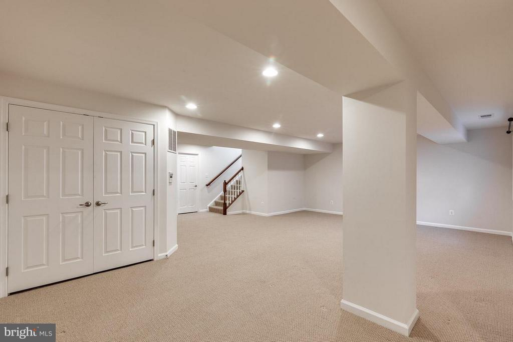 Basement - 12612 AUBREY GLEN TER, WOODBRIDGE