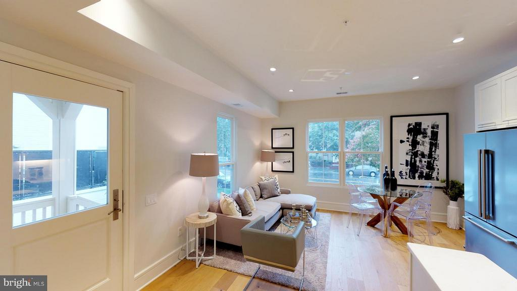 Living Room - 3211 WISCONSIN AVE NW #103, WASHINGTON