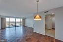 Dining Room - Level Room - 3800 FAIRFAX DR #1009, ARLINGTON