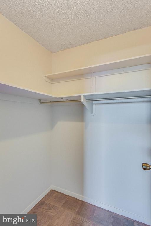 Master Bedroom Walk-In Closet - 3800 FAIRFAX DR #1009, ARLINGTON