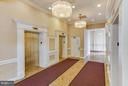 Lobby elevators - 3800 FAIRFAX DR #1009, ARLINGTON