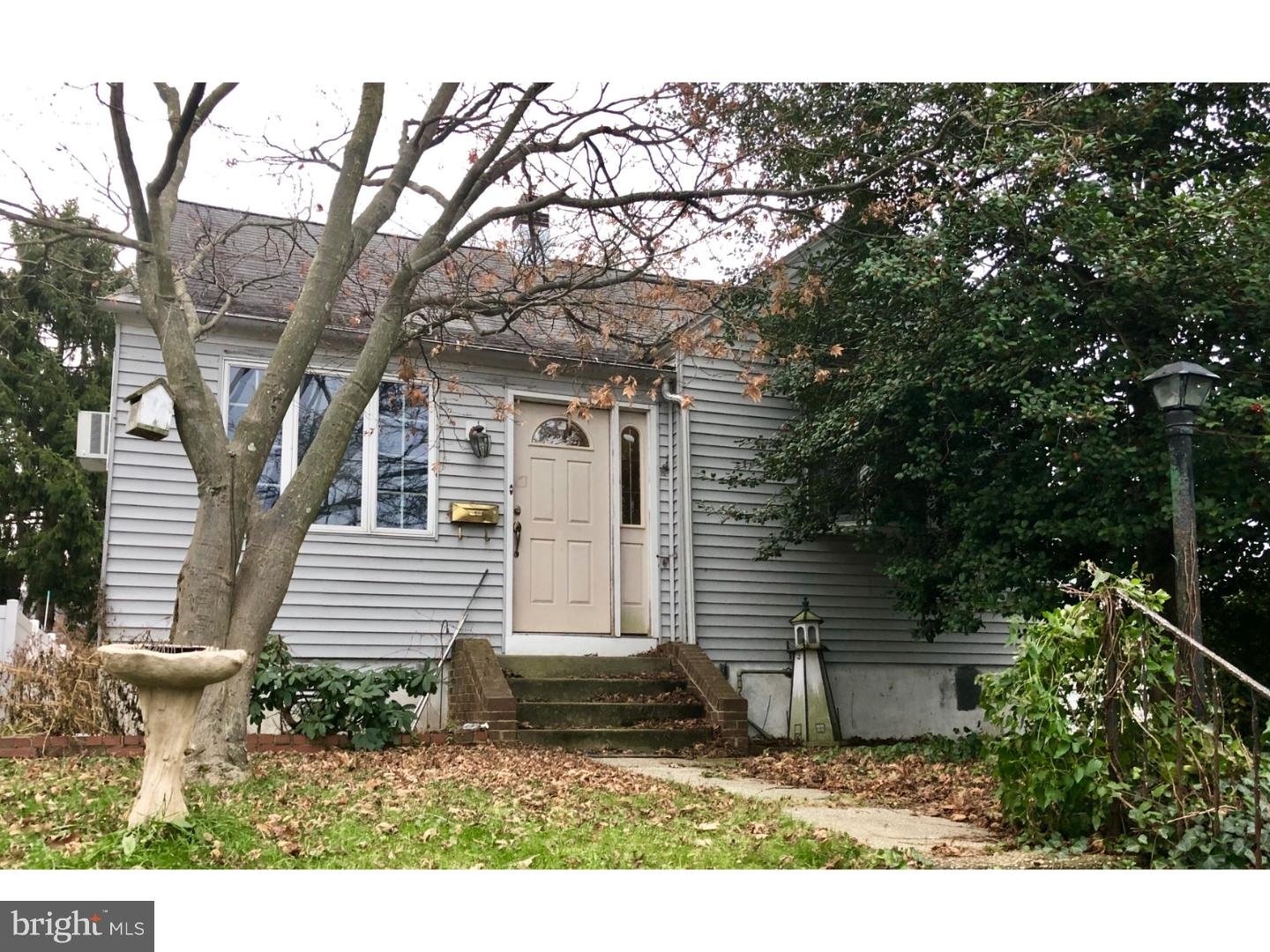 Single Family Home for Sale at 30 3RD Avenue Mount Ephraim, New Jersey 08059 United States