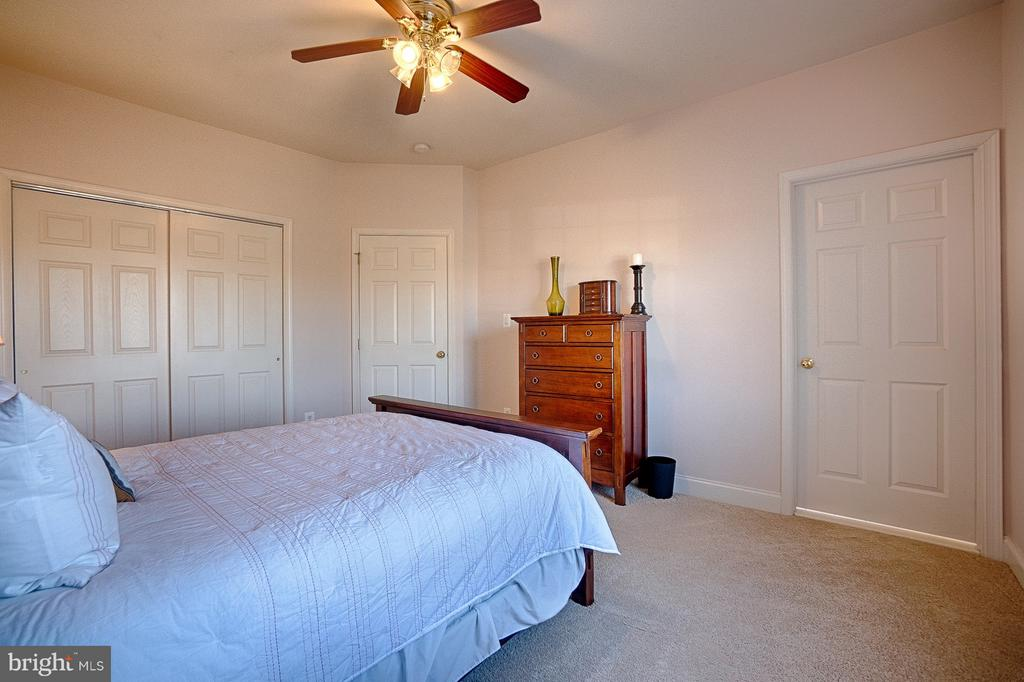Guest room with en-suite full bath - 43256 HARPER MANOR CT, ASHBURN