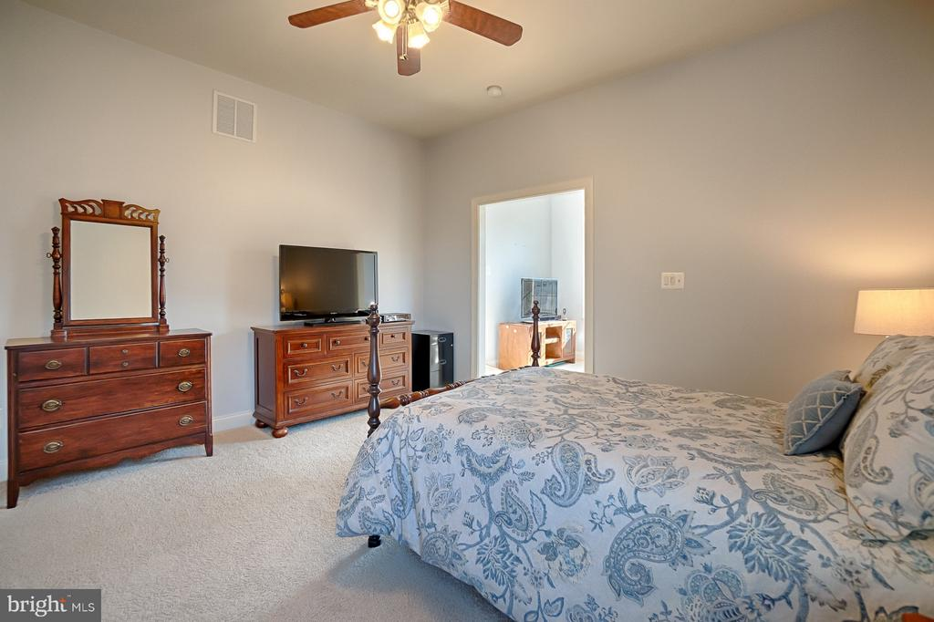 Good sized main level bedroom - 43256 HARPER MANOR CT, ASHBURN