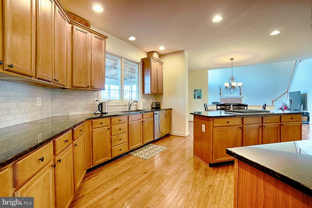 Spacious kitchen with loads of natural light - 43256 HARPER MANOR CT, ASHBURN