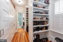 Master Bedroom Closet - 1626 29TH ST NW, WASHINGTON
