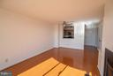 Excellent natural light from the southern exposure - 1200 BRADDOCK PL #705, ALEXANDRIA