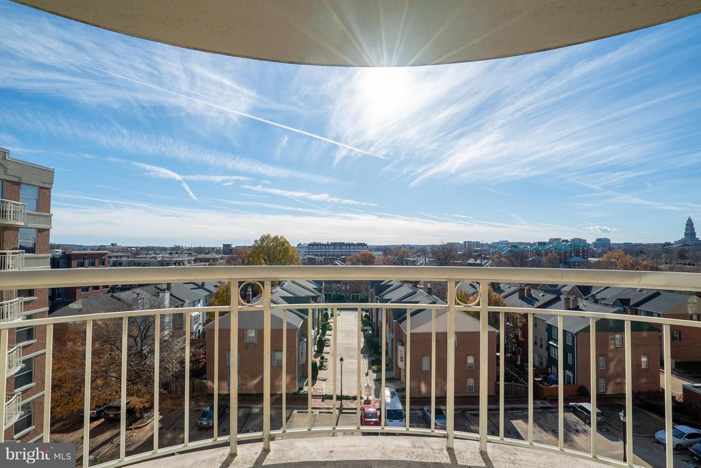 Amazing view from the 7th story! - 1200 BRADDOCK PL #705, ALEXANDRIA