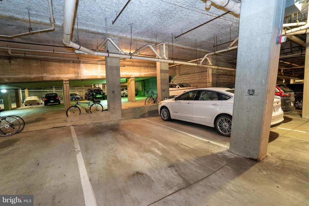 Reserved garage parking spot - 1200 BRADDOCK PL #705, ALEXANDRIA