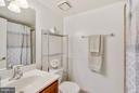 Renovated full bathroom - 1001 N RANDOLPH ST #223, ARLINGTON