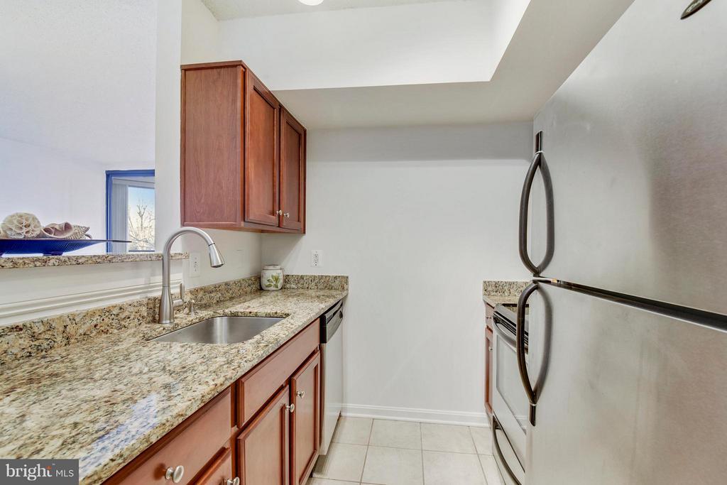 Granite countertops & custom cabinetry - 1001 N RANDOLPH ST #223, ARLINGTON