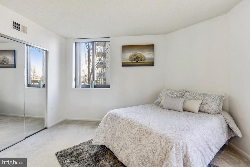 Master bedroom! - 1001 N RANDOLPH ST #223, ARLINGTON