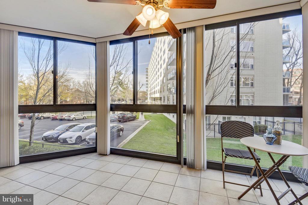 Floor to ceiling windows - 1001 N RANDOLPH ST #223, ARLINGTON