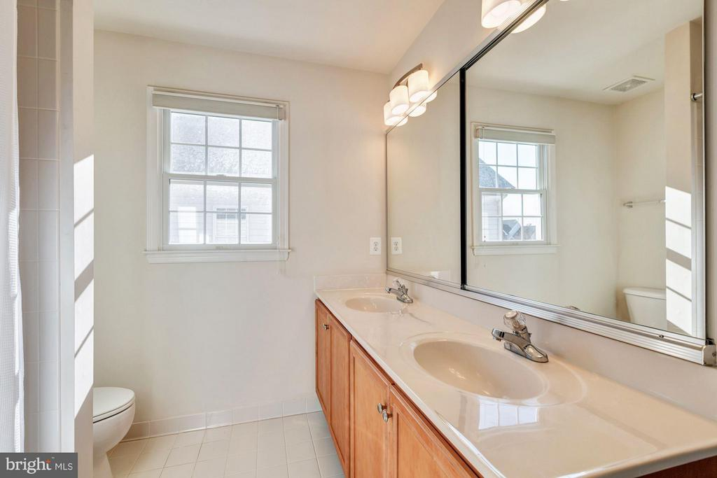 Jack and Jill Bathroom - 20290 KIAWAH ISLAND DR, ASHBURN