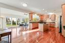 Gourmet Kitchen w/ Hardwood Floors - 20290 KIAWAH ISLAND DR, ASHBURN
