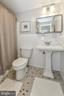 Second full bath - 2710 MACOMB ST NW #216-217, WASHINGTON
