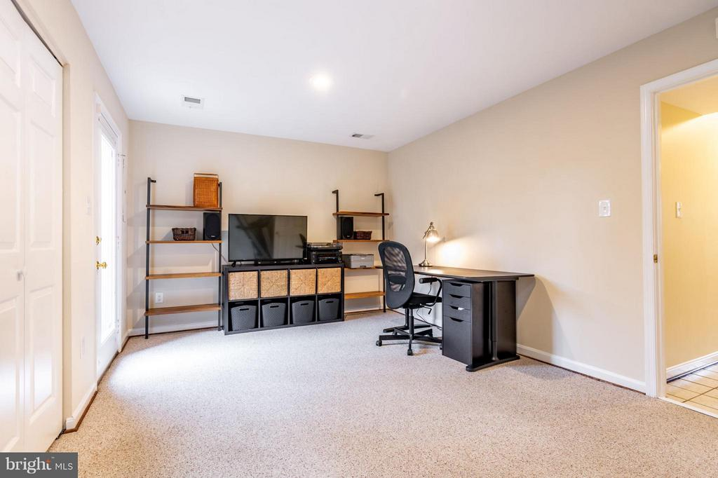 3rd bedroom (downstairs) - 1130 N STAFFORD ST #B, ARLINGTON