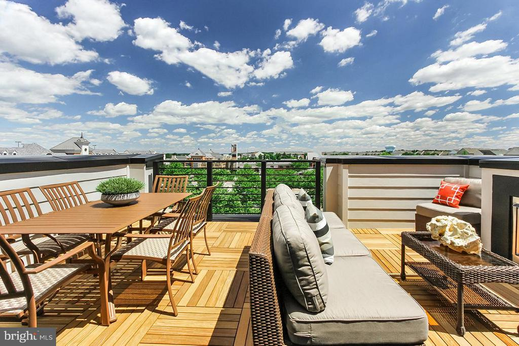 Rooftop Terrace - 22000 EMBER BROOK CIR S, BRAMBLETON