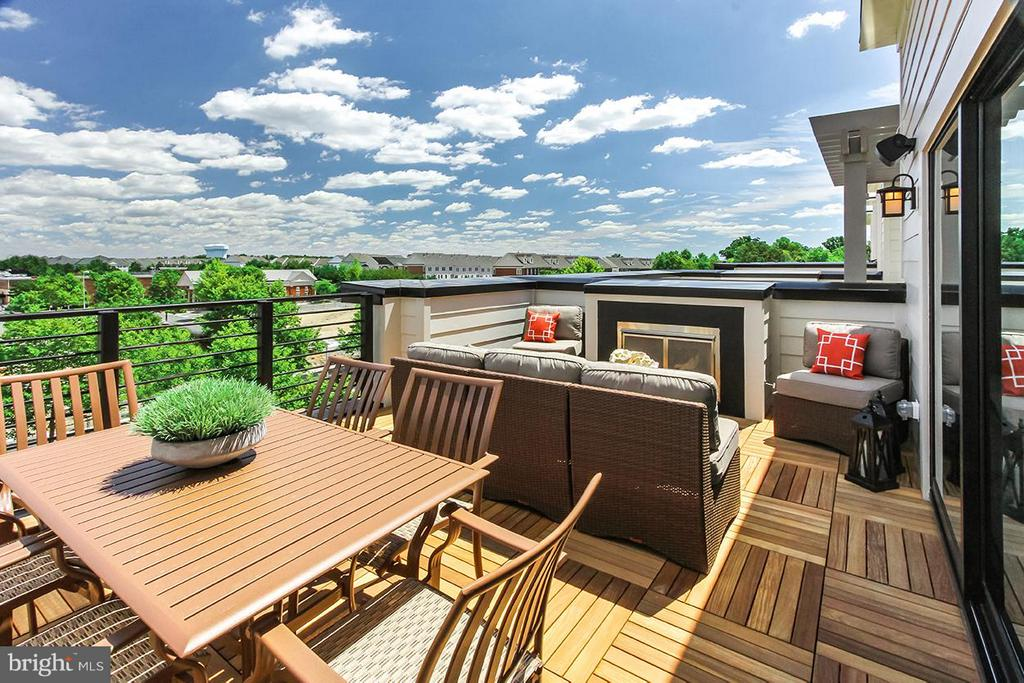 Rooftop Terrace/ Legacy Park View - 22000 EMBER BROOK CIR S, BRAMBLETON