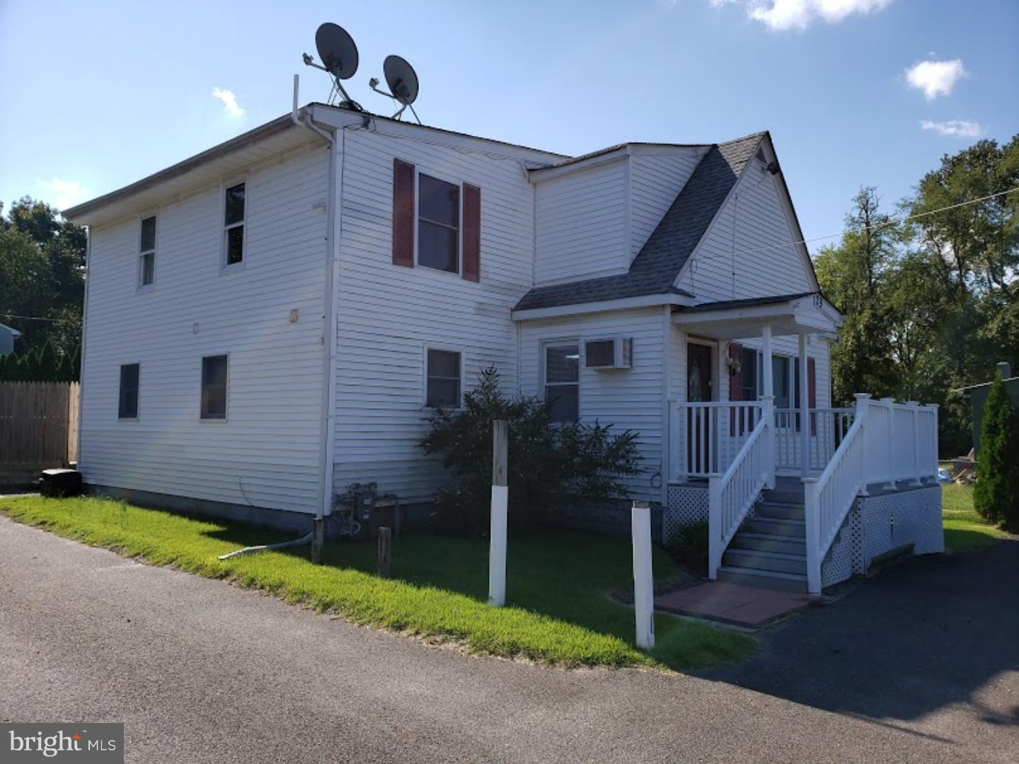 Single Family Home for Sale at 129 JULIUSTOWN Road Browns Mills, New Jersey 08015 United States