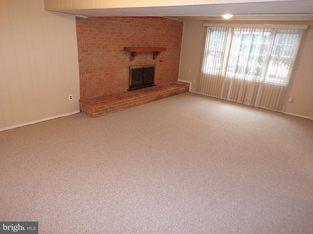 Family Room  - Cozy Fireplace - 8803 NW HIGDON DR, VIENNA