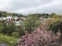 VIEW FROM PRIVATE ROOF TERRACE WITH LARGE HOT TUB - 3722 R ST NW, WASHINGTON