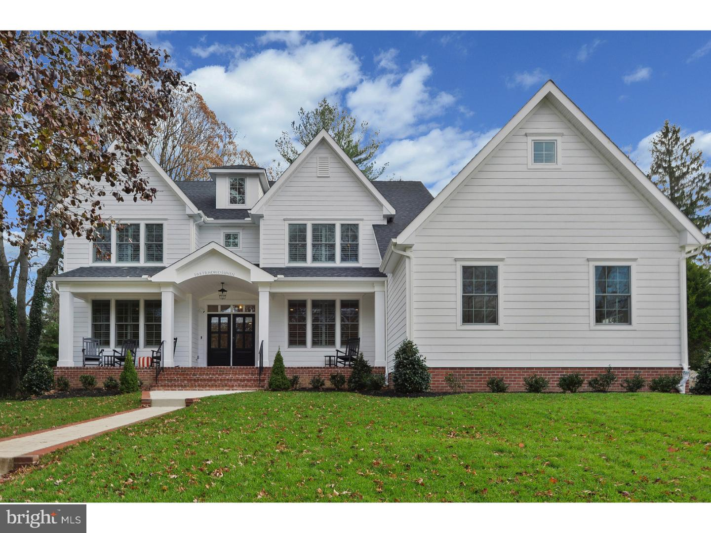 Single Family Home for Sale at 511 WESTMINSTER Avenue Haddonfield, New Jersey 08033 United States