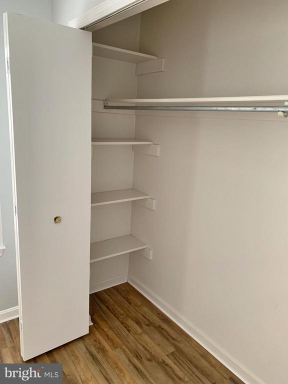 Master Bedroom #2 Closet with Built-In Shelves - 103 MAYFAIR PL, STAFFORD