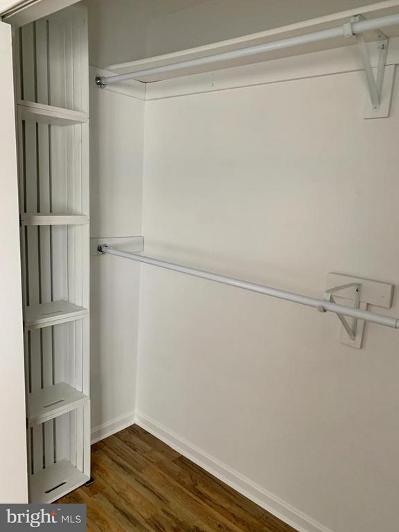 Master #1 Closet with Built-In Shelving - 103 MAYFAIR PL, STAFFORD