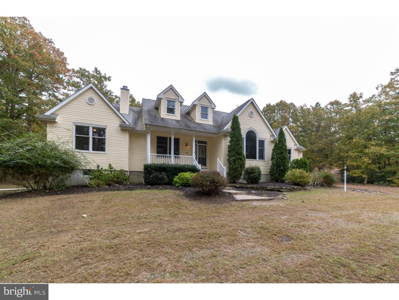 Частный односемейный дом для того Продажа на 10B CARRANZA RD #B Tabernacle Twp, Нью-Джерси 08088 Соединенные Штаты