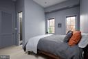 Owner's bedroom w/ en-suite bathroom - 1217 T ST NW, WASHINGTON