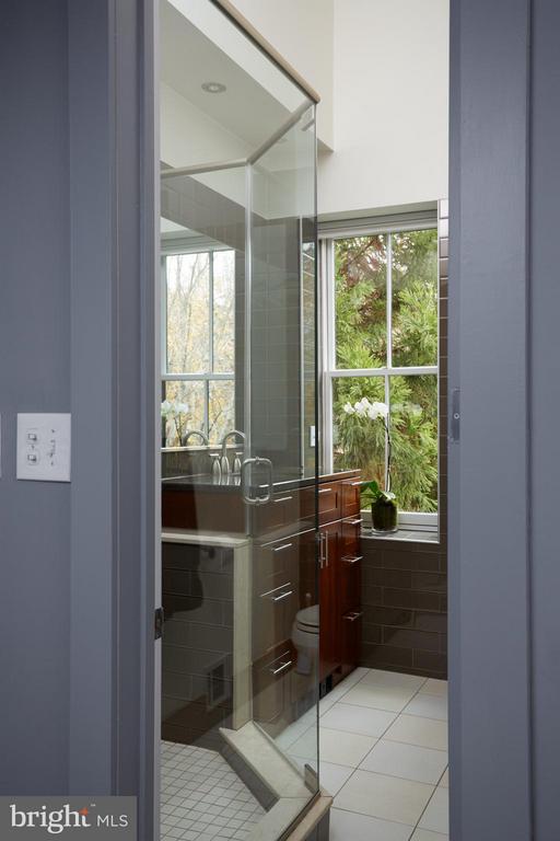 Owner's bedroom en-suite bathroom - 1217 T ST NW, WASHINGTON