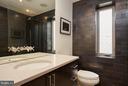 Second bedroom en-suite bathroom - 1217 T ST NW, WASHINGTON
